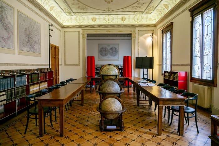 Museo di geografia a Padova (Ph Anna Bellettato)
