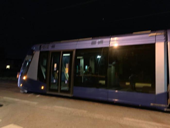 Il tram deraglia alla Guizza