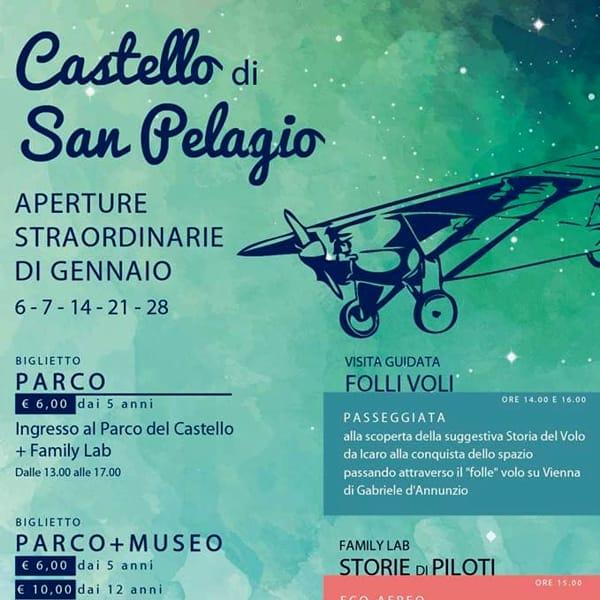 Aperture straordinarie del castello di San Pelagio-2