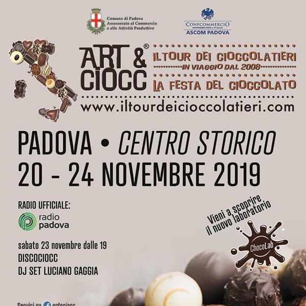 LOCANDINA ART&CIOCC PADOVA 2019-3